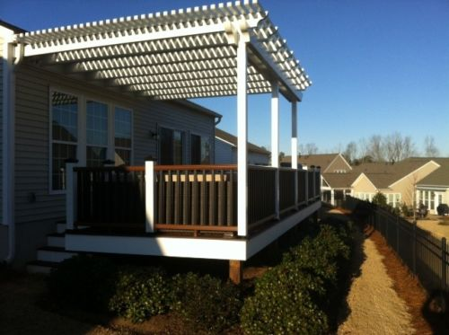custom carpenter trex deck north carolina