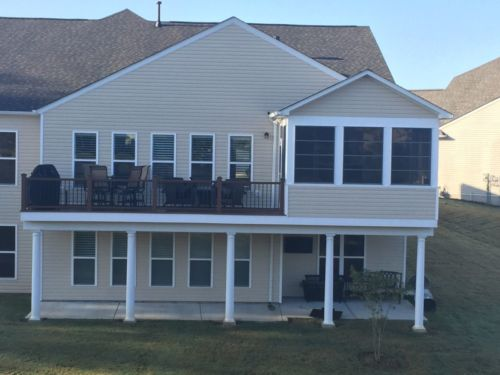 custom carpenter trex deck south carolina