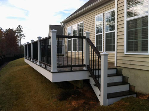 custom decks railings north carolina south carolina