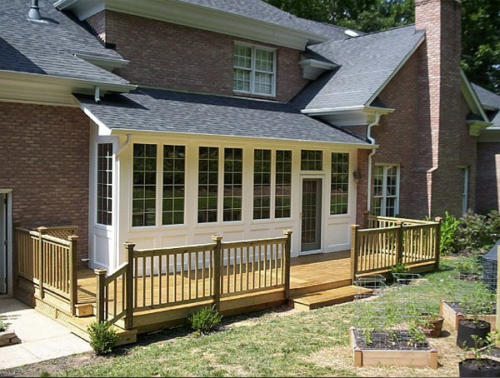 custom carpentry decks waxhaw nc