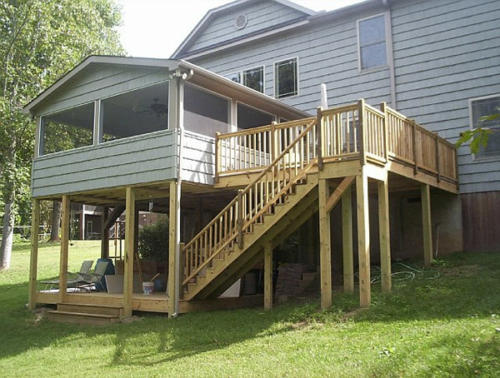 custom decks carpenter fort mill south carolina