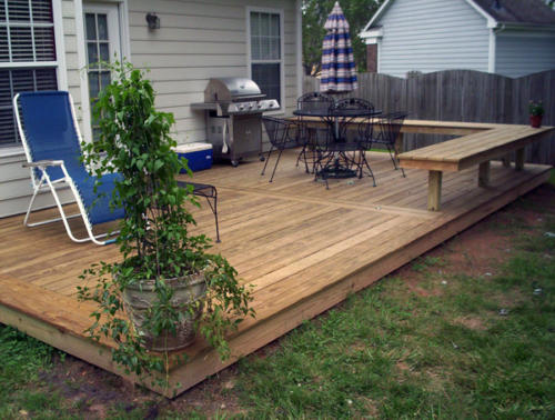 custom decks addition waxhaw nc