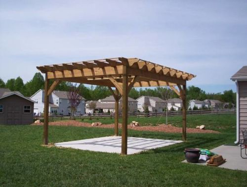 pergola carpenter company south carolina
