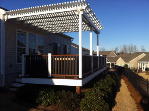 pergola carpenter carolina orchards sc